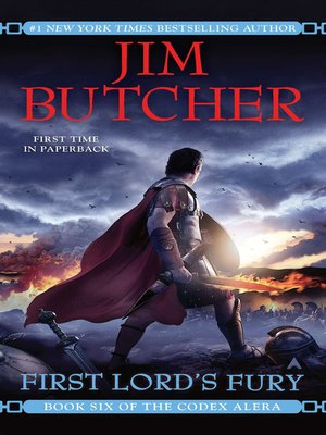 First Lord's Fury by Jim Butcher. AVAILABLE eBook.
