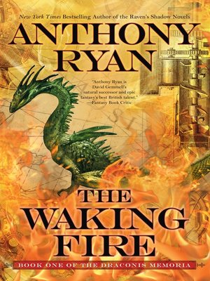 The Waking Fire by Anthony Ryan. AVAILABLE eBook.