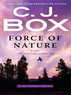 Force of Nature by C. J. Box. AVAILABLE eBook.