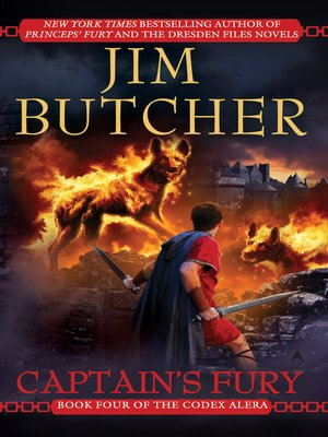 Captain's Fury by Jim Butcher. AVAILABLE eBook.