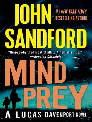Mind Prey by John Sandford. AVAILABLE eBook.