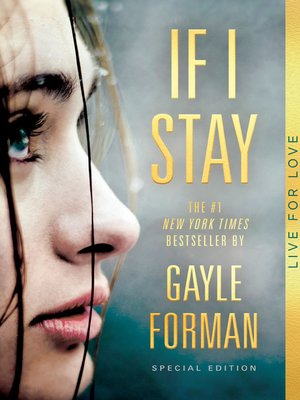 If I Stay by Gayle Forman. WAIT LIST eBook.