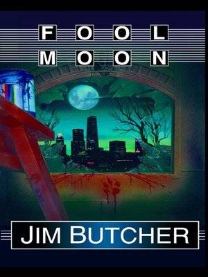 Fool Moon by Jim Butcher.                                              AVAILABLE Audiobook.