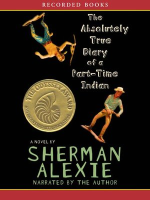 The Absolutely True Diary of a Part-Time Indian by Sherman Alexie.                                              AVAILABLE Audiobook.
