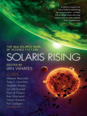 Solaris Rising by Ian Whates. AVAILABLE eBook.