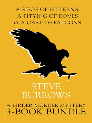 Birder Murder Mysteries 3-Book Bundle by Steve Burrows. AVAILABLE eBook.