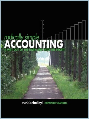 Radically Simple Accounting by Madeline Bailey. AVAILABLE Audiobook.