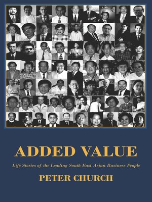 Added Value by Peter  Church.                                              AVAILABLE eBook.