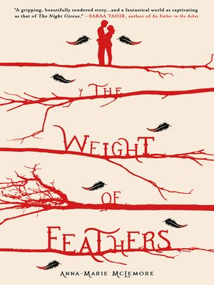 The Weight of Feathers by Anna-Marie McLemore.                                              AVAILABLE eBook.