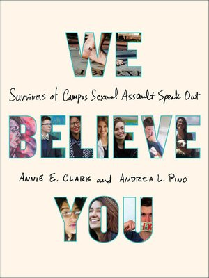 We Believe You by Annie E. Clark.                                              AVAILABLE eBook.