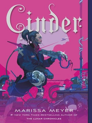 Cinder by Marissa Meyer. AVAILABLE eBook.