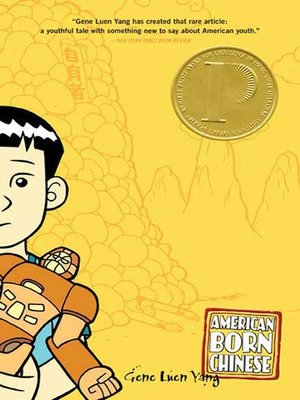 American Born Chinese by Gene Luen Yang. AVAILABLE eBook.