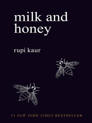 Milk and Honey by Rupi Kaur. AVAILABLE eBook.