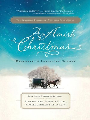An Amish Christmas by Beth Wiseman. AVAILABLE eBook.