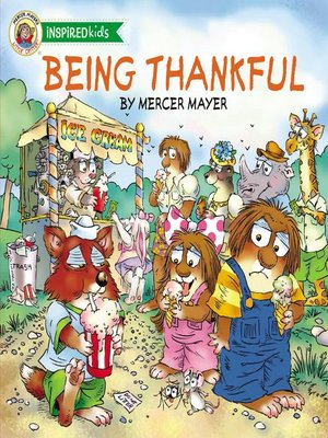 Being Thankful by Mercer Mayer. AVAILABLE eBook.