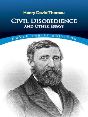 civil disobedience and other essays summary
