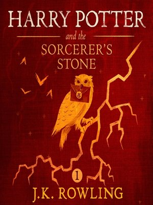 Harry Potter and the Sorcerer's Stone by J.K. Rowling. AVAILABLE Audiobook.
