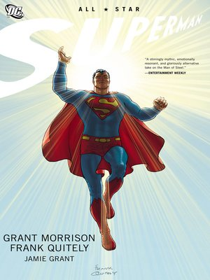 All-Star Superman by Grant Morrison. AVAILABLE eBook.