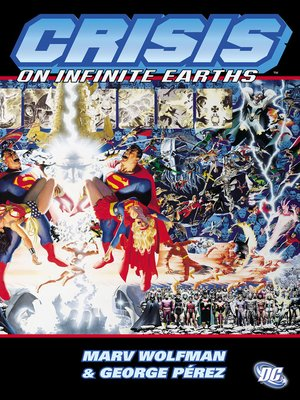 Crisis on Infinite Earths by Marv Wolfman. AVAILABLE eBook.