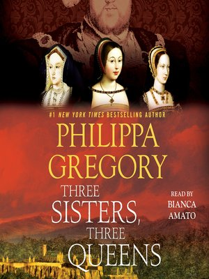 Three Sisters, Three Queens by Philippa Gregory.                                              AVAILABLE Audiobook.