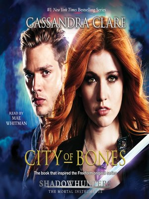 City of Bones by Cassandra Clare.                                              AVAILABLE Audiobook.