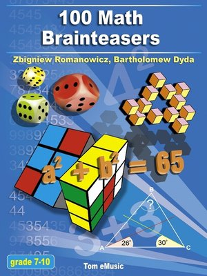 100 Math Brainteasers by Zbigniew Romanowicz.                                              AVAILABLE eBook.