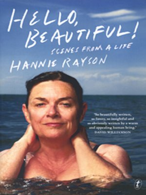 Hello, Beautiful! by Hannie Rayson. AVAILABLE Audiobook.