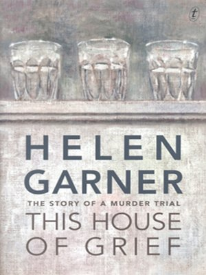 This House of Grief by Helen Garner. AVAILABLE Audiobook.