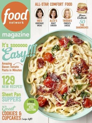 Food Network Magazine by Hearst. AVAILABLE Periodical.