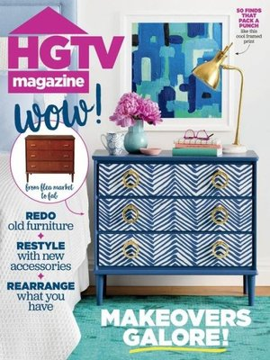 HGTV Magazine by Hearst. AVAILABLE Periodical.