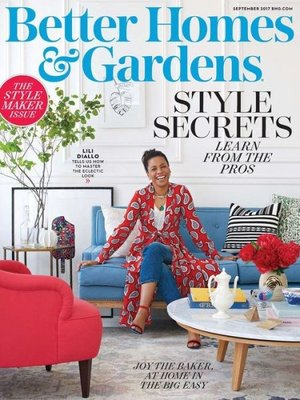 Better Homes and Gardens by Meredith Corporation.                                              AVAILABLE Periodicals.