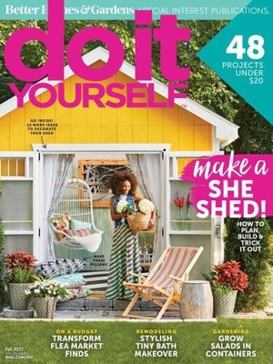 Do it Yourself by Meredith Corporation. AVAILABLE Periodical.