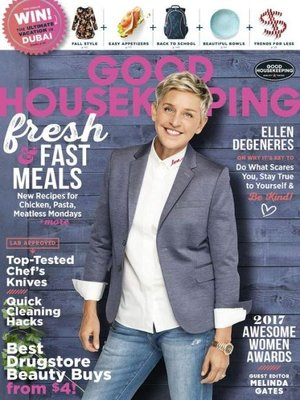 Good Housekeeping - US edition by Hearst. AVAILABLE Periodical.